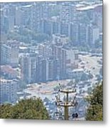 Sliven Bulgaria From Chair Lift Metal Print