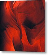 Slot Canyon Abstract Metal Print