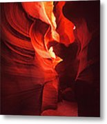 Slots On Fire Metal Print