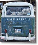 Slow Vehicle Metal Print
