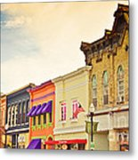 Small Town Colors Metal Print by Christina Klausen