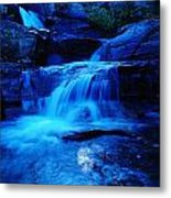 Small Waterfall Going Into Spirit Lake  Metal Print