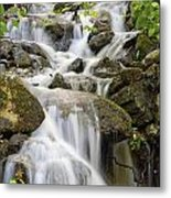 Small Waterfalls And Brook West Bolton Metal Print