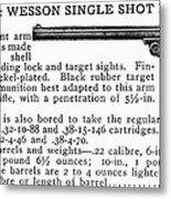 Smith & Wesson Pistol Metal Print
