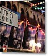 Smith Street Metal Print