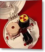 Smoke Alarm Components Metal Print