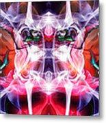 Smoke Dementia Number Three Edit D Metal Print