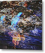 Smoke On The Water Metal Print by Kelly Reber