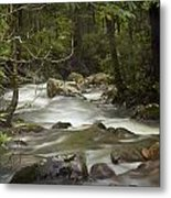 Smokey Mountain Stream No.326 Metal Print