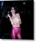 Smoking Is Sexy Metal Print by J C
