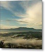 Smoky Mountain Rise   Metal Print by Glenn Lawrence