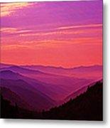 Smoky Mountain Sunrise 005 Metal Print