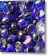 Smooth Stones Metal Print