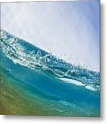 Smooth Wave Metal Print