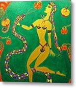 Snake  Dancer Metal Print