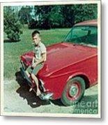 Snapshot From 1950s Metal Print
