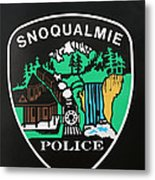 Snoqualmie Police Metal Print