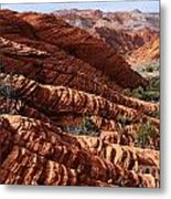 Snow Canyon 2 Metal Print