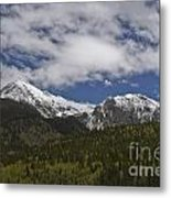 Snow Capped San Juans Metal Print