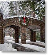 Snow Gate  Metal Print