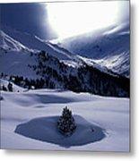 Snow Mountain Austria  Metal Print