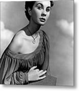 So Long At The Fair, Jean Simmons, 1950 Metal Print by Everett