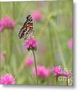 So Many Flowers So Little Time Metal Print