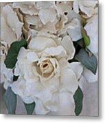 Soft Floral Metal Print