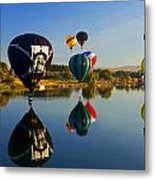 Soft Landings Metal Print