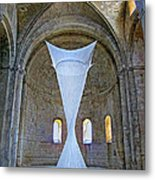Soft Sculpture In A Monastery Metal Print