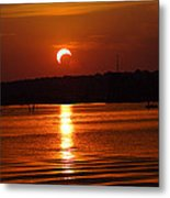 Solar Eclipse 2012 - Fort Worth Texas Metal Print