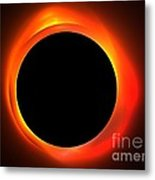 Solar Eclipse Metal Print