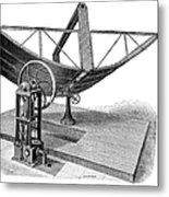 Solar Engine, 1884 Metal Print