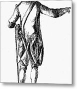 Soldier, 18th Century Metal Print