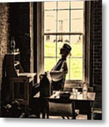 Soldier Of Old Times Metal Print