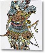Soldier: Samurai Metal Print