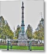 Soldiers And Sailors Monument In Lafayette Square Metal Print
