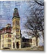 Soldiers Home And Brick Metal Print