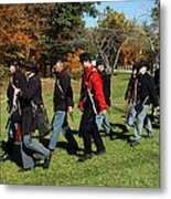 Soldiers March Color Metal Print