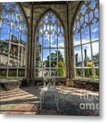 Solitary Conservatory Metal Print