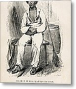 Solomon Northup (1808-?) Metal Print