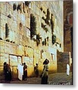 Solomon's Wall  Jerusalem Metal Print