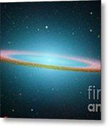 Sombrero Galaxy M104, Ir Image Metal Print