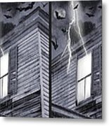 Something Wicked - Cross Your Eyes And Focus On The Middle Image Metal Print