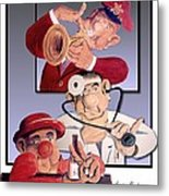 Sons Of Gs Bolivoufs Metal Print