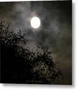 Soothing Moon Metal Print