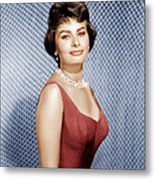 Sophia Loren, Ca. 1950s Metal Print by Everett