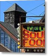 Soul Food Metal Print
