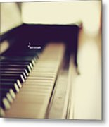 Sound Of Piano Metal Print