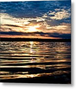Sounds Of Water Metal Print